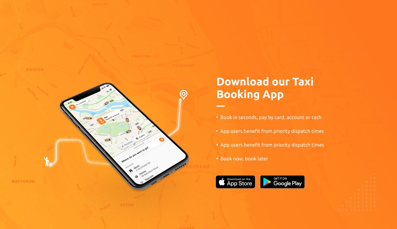 Argyle Satellite Taxis App Wirral